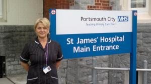 Jacqui Guile | St James Hospital Main Entrance