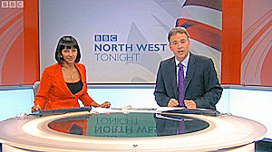 BBC North West Tonight | Ranvir Singh and Roger Johnson | 05/10/2011 6.30pm