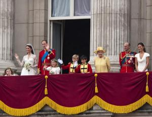 Katherine and William's Royal Wedding Day, Buckingham Palace