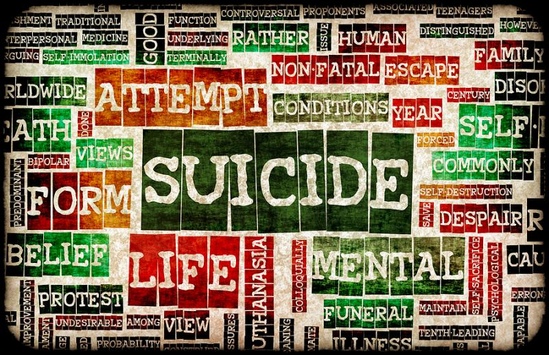 how to stop suicidal thoughts uk